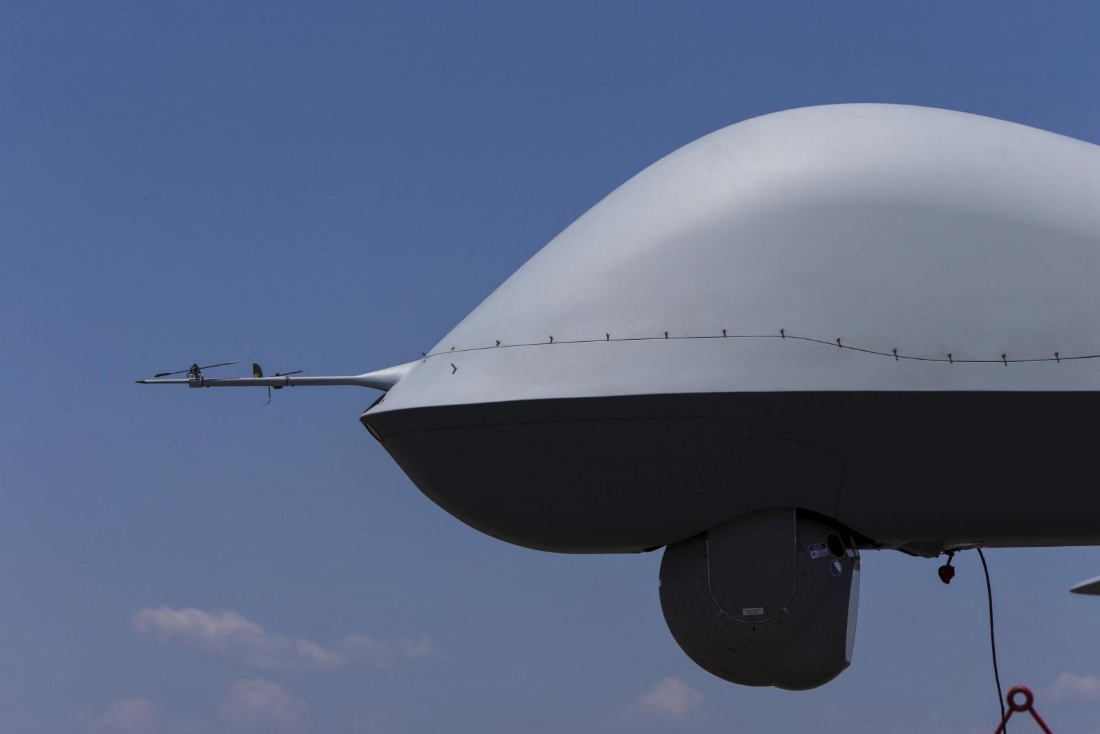 A General Atomics MQ-9 Reaper military drone