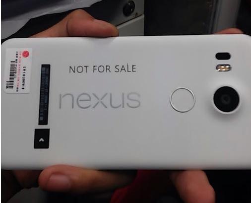 Nexus 5 by LG leak