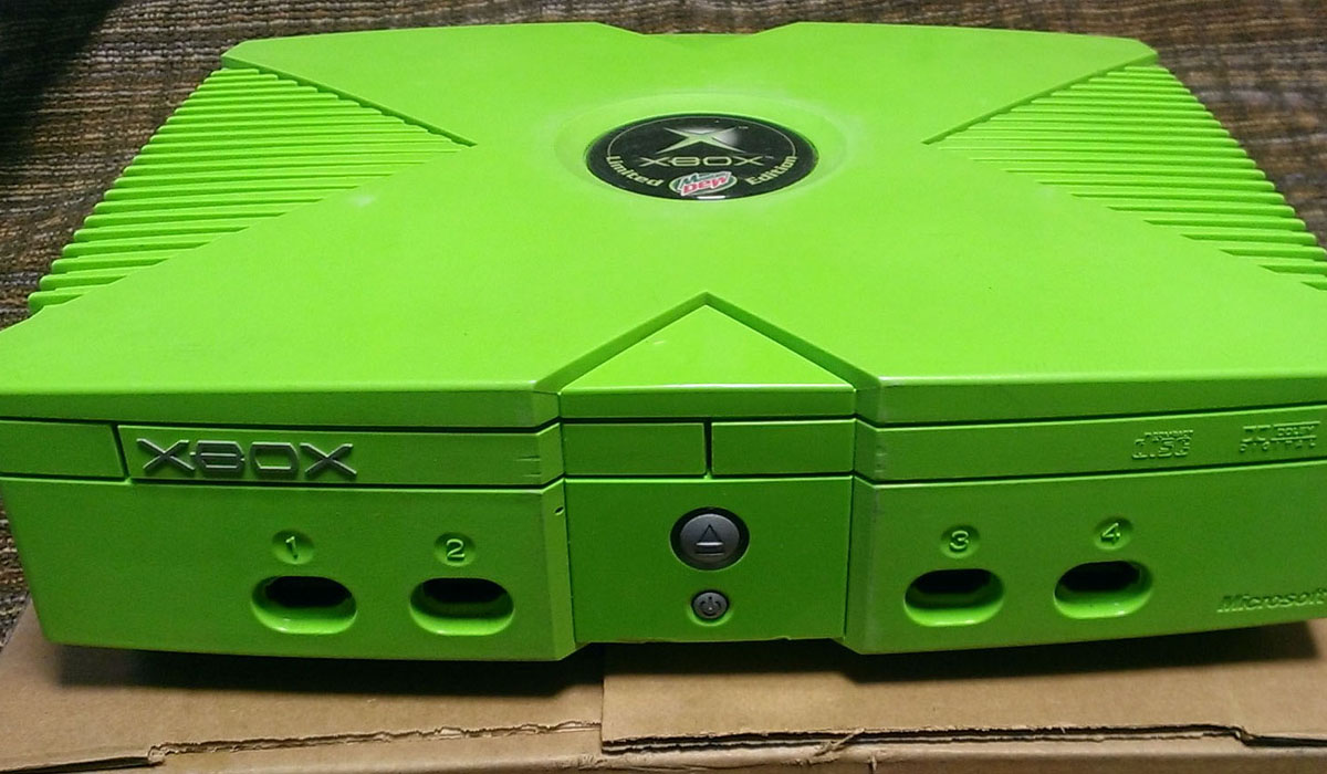 Mountain Dew Xbox