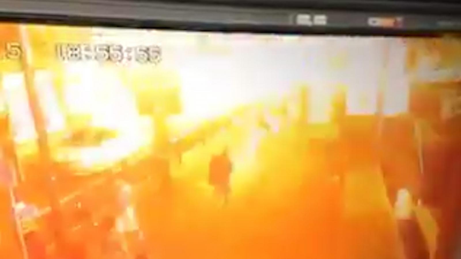Bangkok bomb video