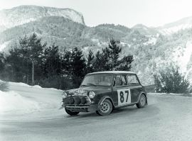 Mini Cooper rally Monte Carlo