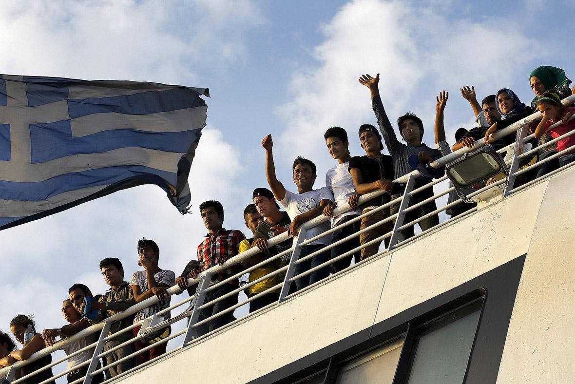 Migrants Kos Turkey dinghies