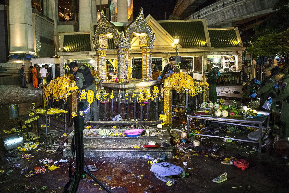 Bangkok bomb erawan shrine