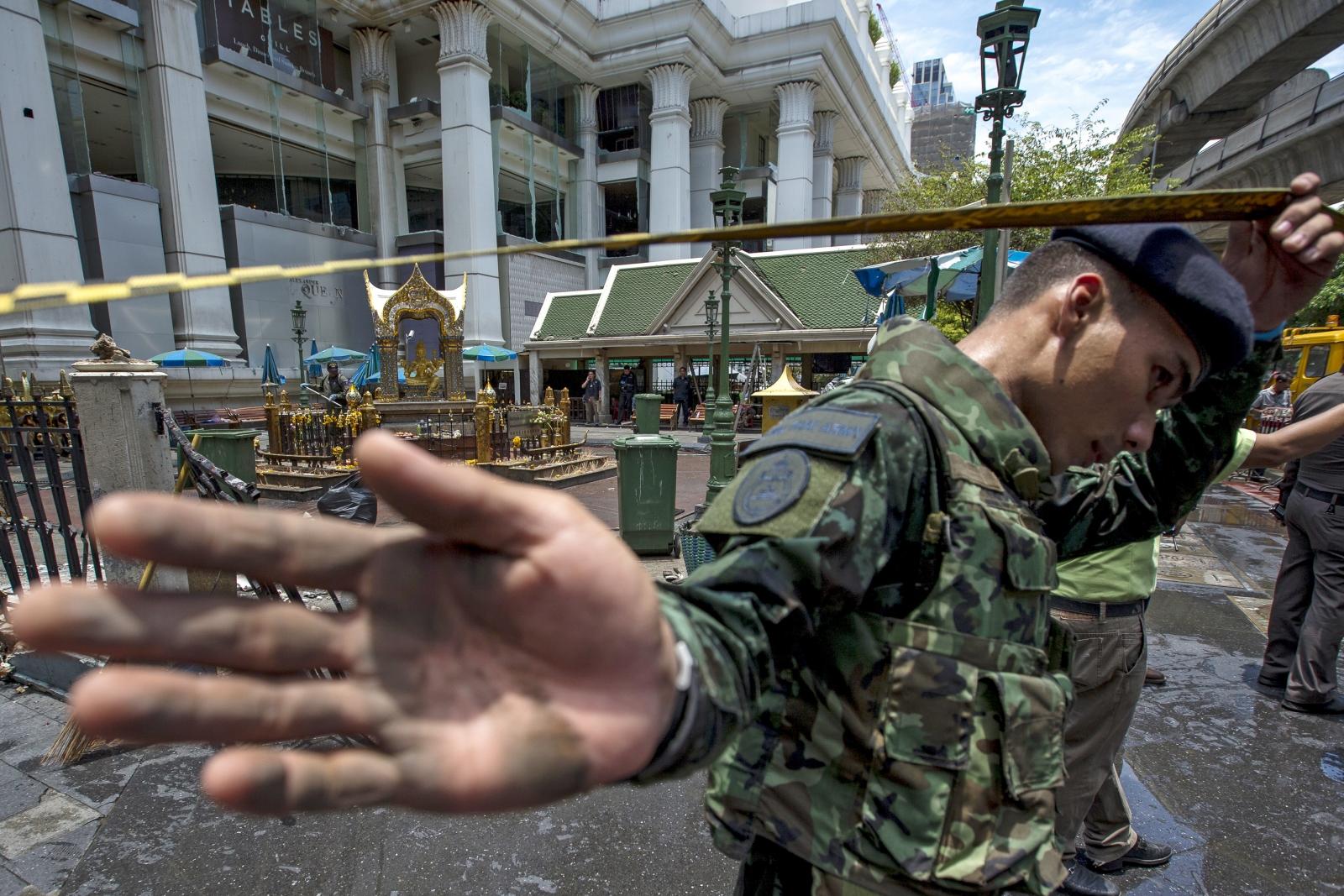 bangkok Erawan shrine blast