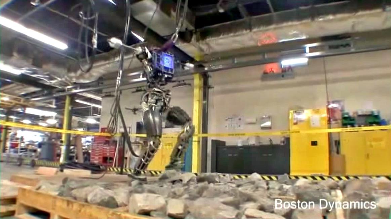Boston Dynamics humanoid Atlas robot