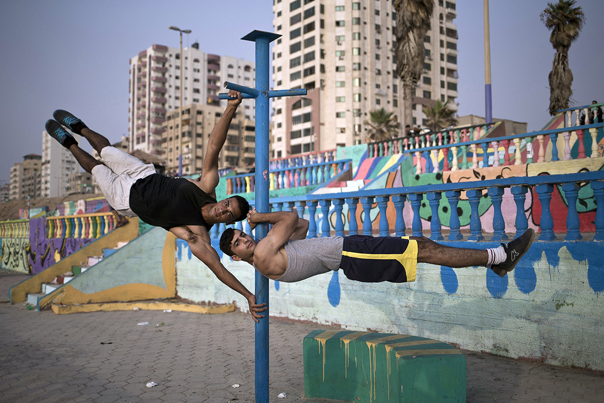 Bar Palestine street workout Gaza