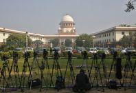 India Supreme Court security threat