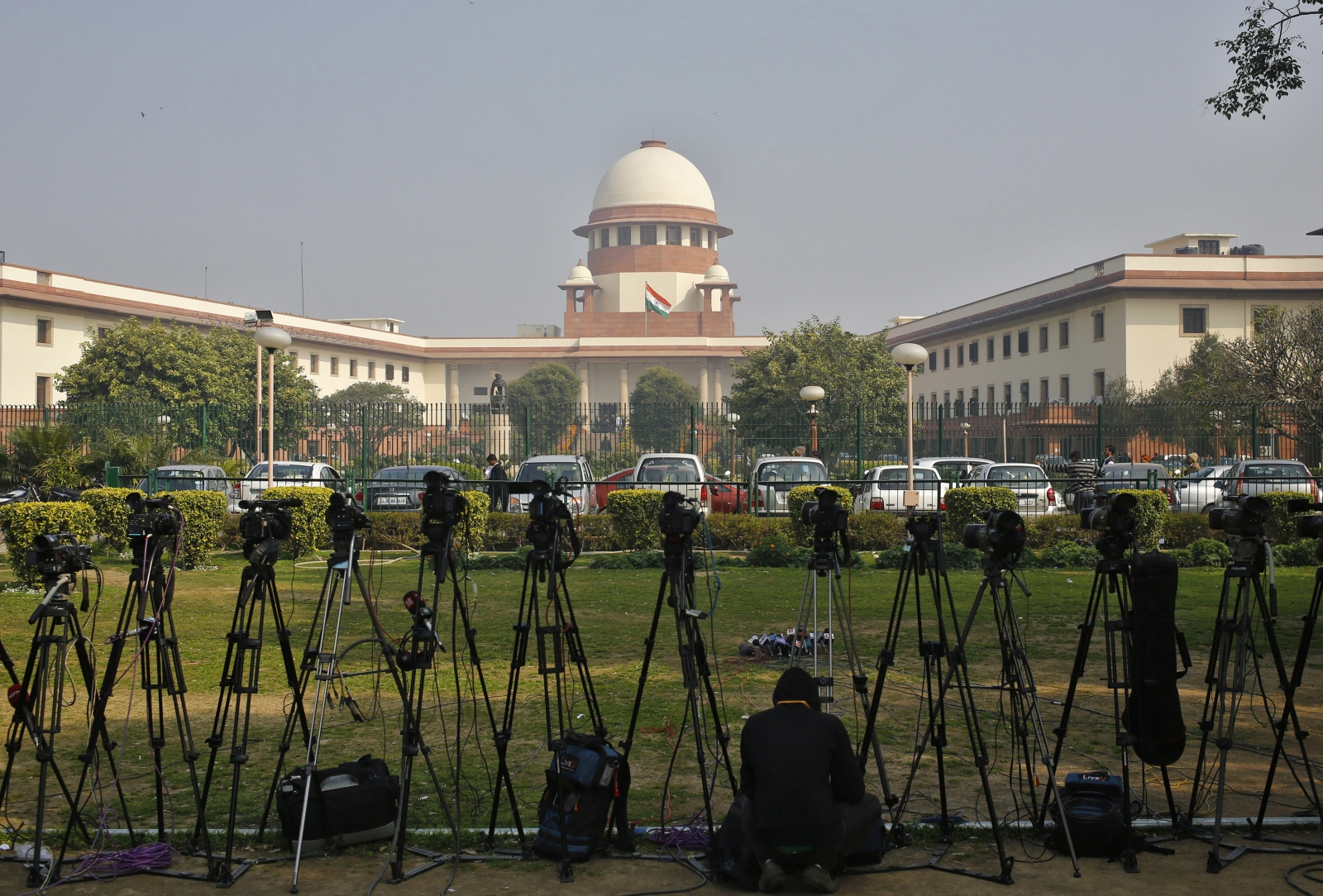 India Supreme Court security threat