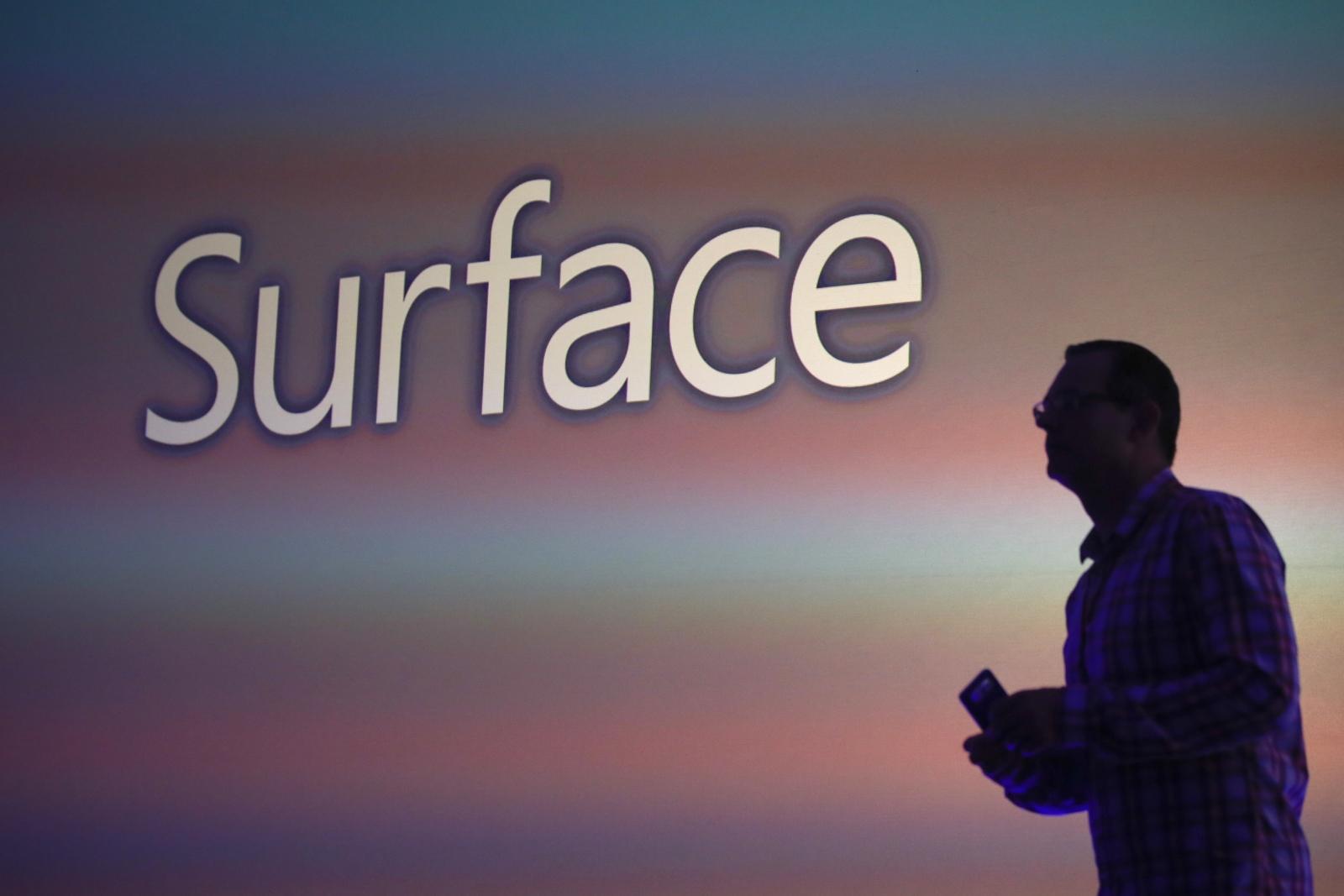 Microsoft Surface Mobile