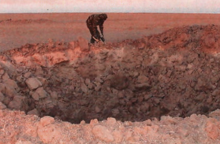 UK military checks for sarin contamination
