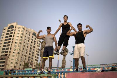 Bar Palestine street workout Gaza