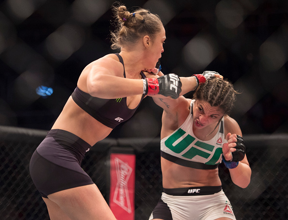 Bethe Correia-Ronda Rousey