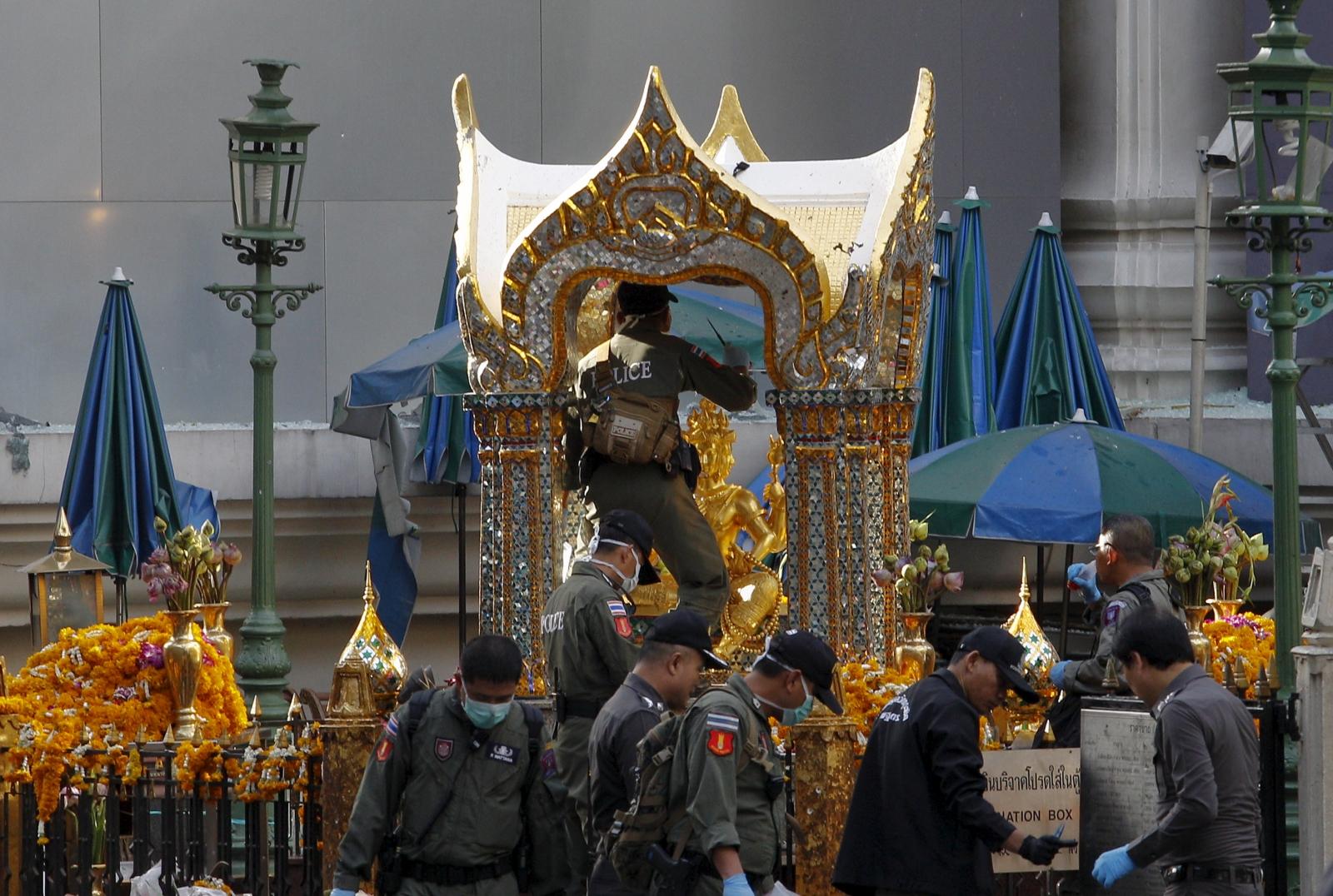 Thailand Bangkok blast