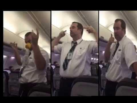 WestJet flight crew member