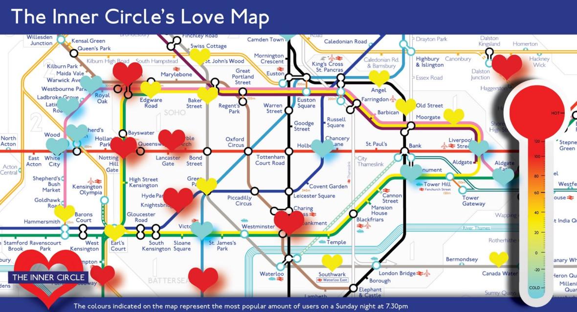 Inner Circle Love Map