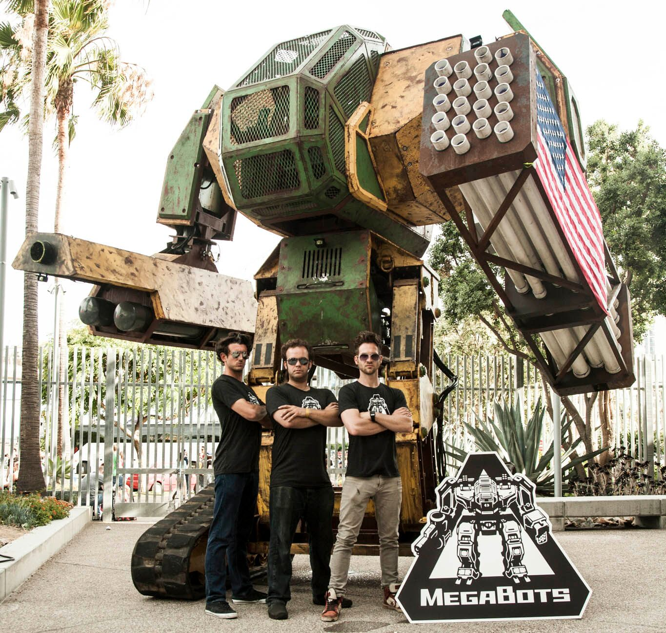 MegaBots Mark 2 on show at SDCC
