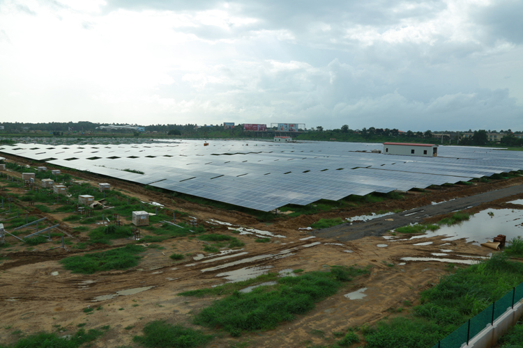 Kochi solar-powered airport