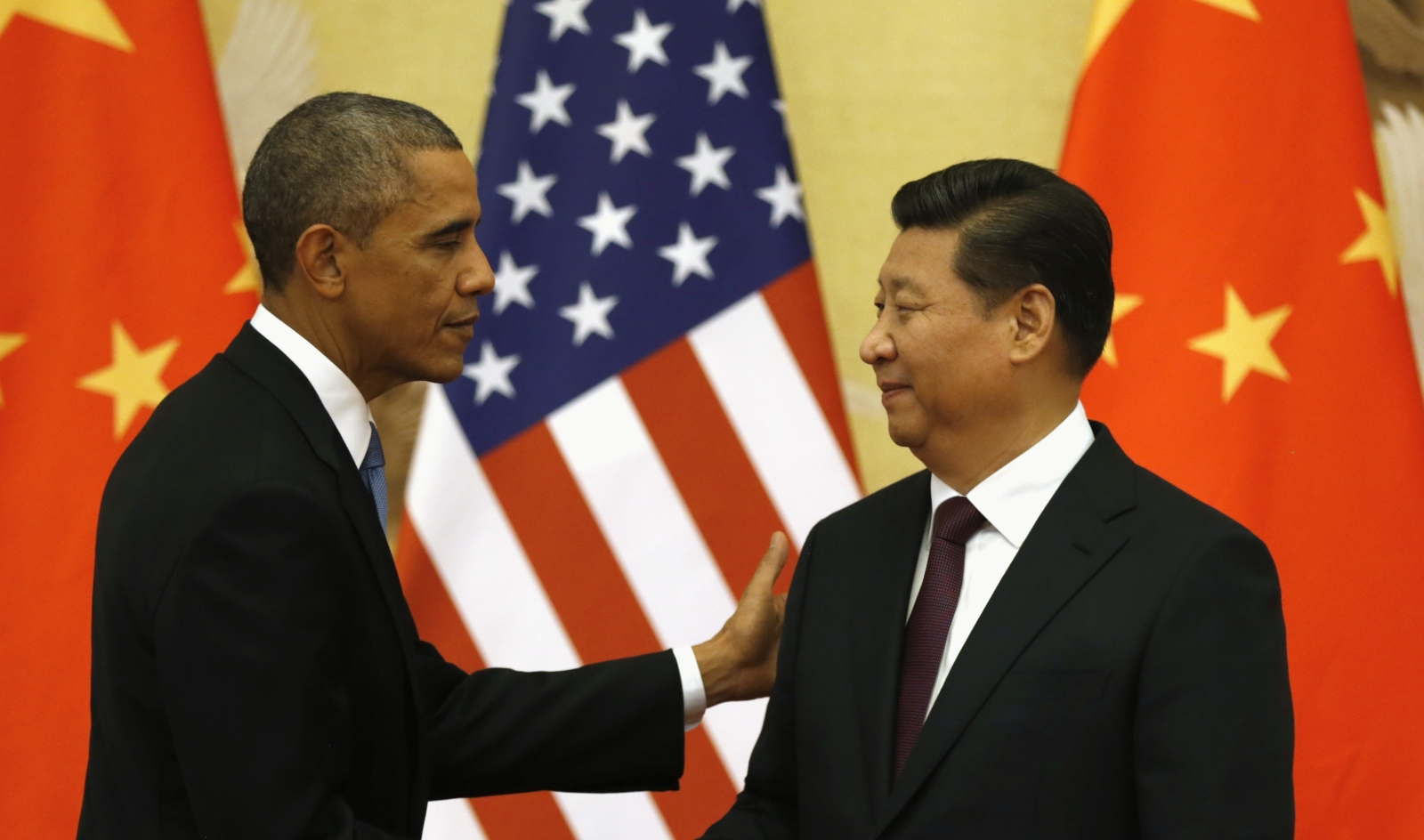 Barack Obama Xi Jinping China US