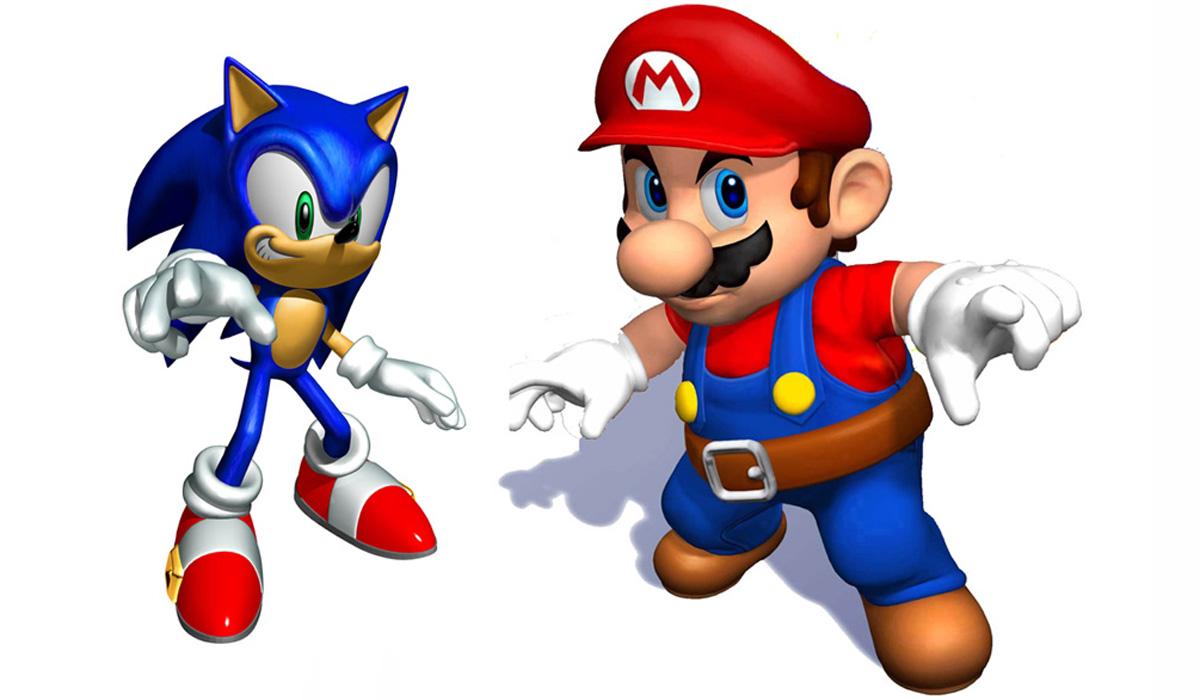 Sonic is in Super Mario Maker - Sega and Nintendo\'s rivalry