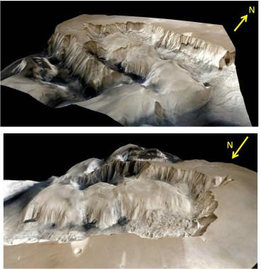 Mars 3D images