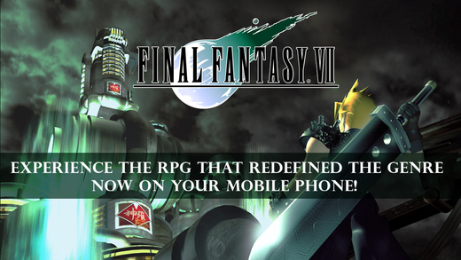Final Fantasy 7 available for iOS