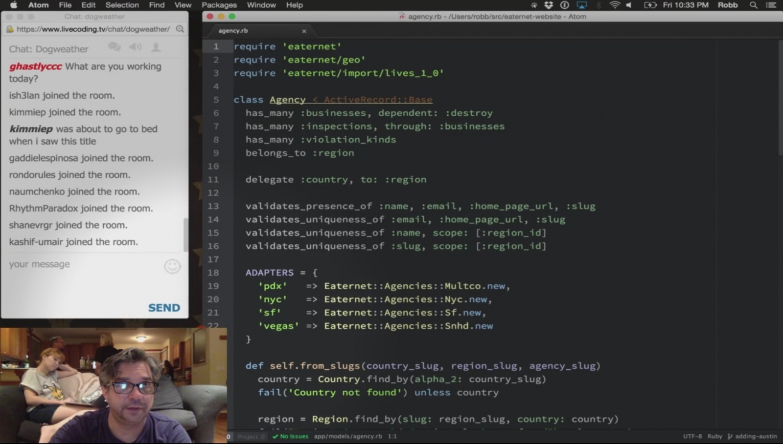 coding live twitch watch learn