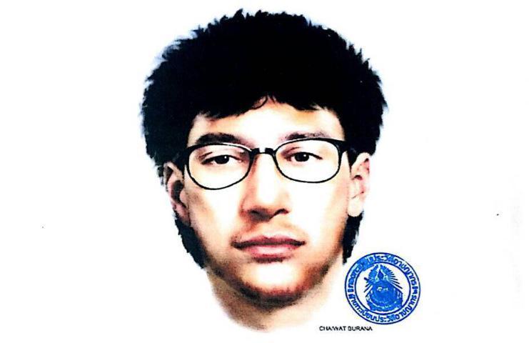 Bankok Bomb Suspect Sketch
