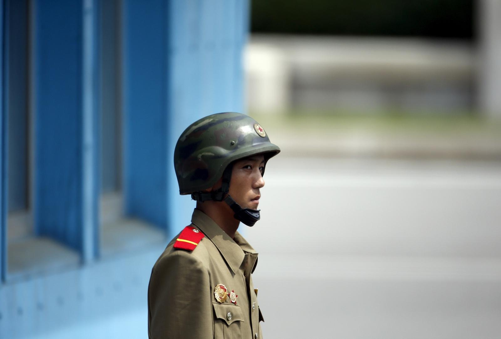 North Korea South Korea DMZ