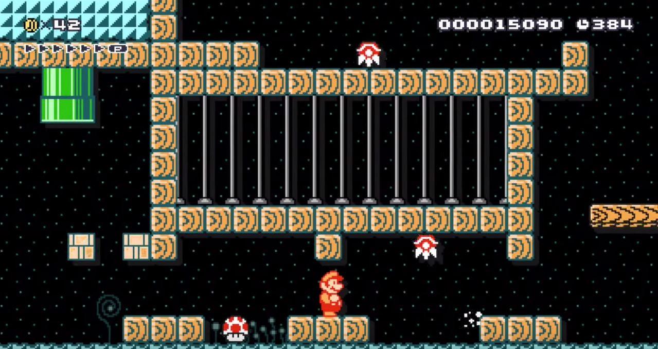 Super Mario Maker Metroid