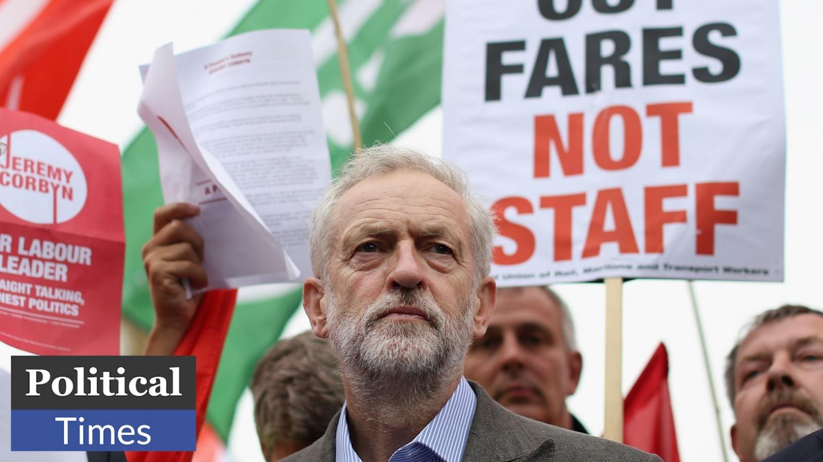 Jeremy Corbyn at Kings Cross Political Times