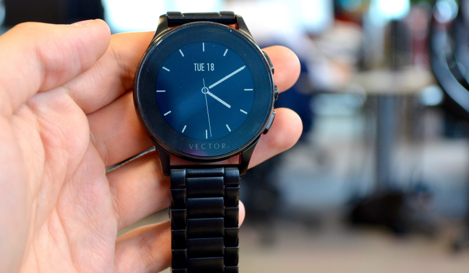 Vector luna smartwatch review smart on the outside simple on the