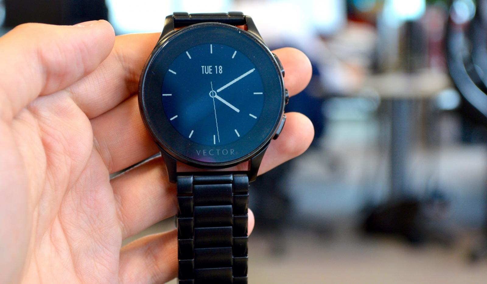 Vector Luna smartwatch