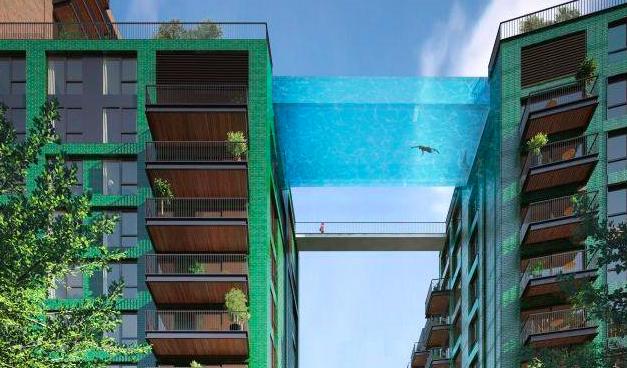 London Sky Pool