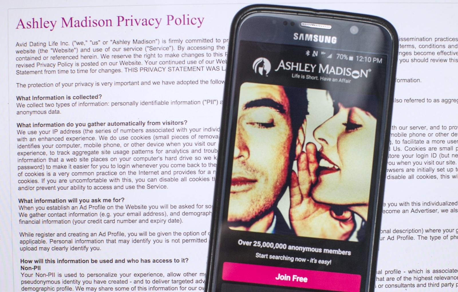 Ashley madison full website