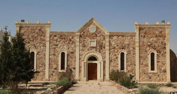 Mar Elian monastery bulldozed Isis
