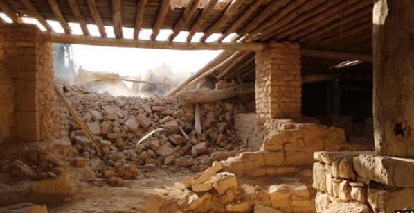 Mar Elian monastery Isis