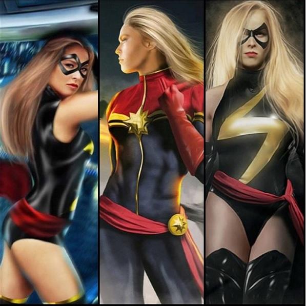 Ronda Rousey as Captain Marvel
