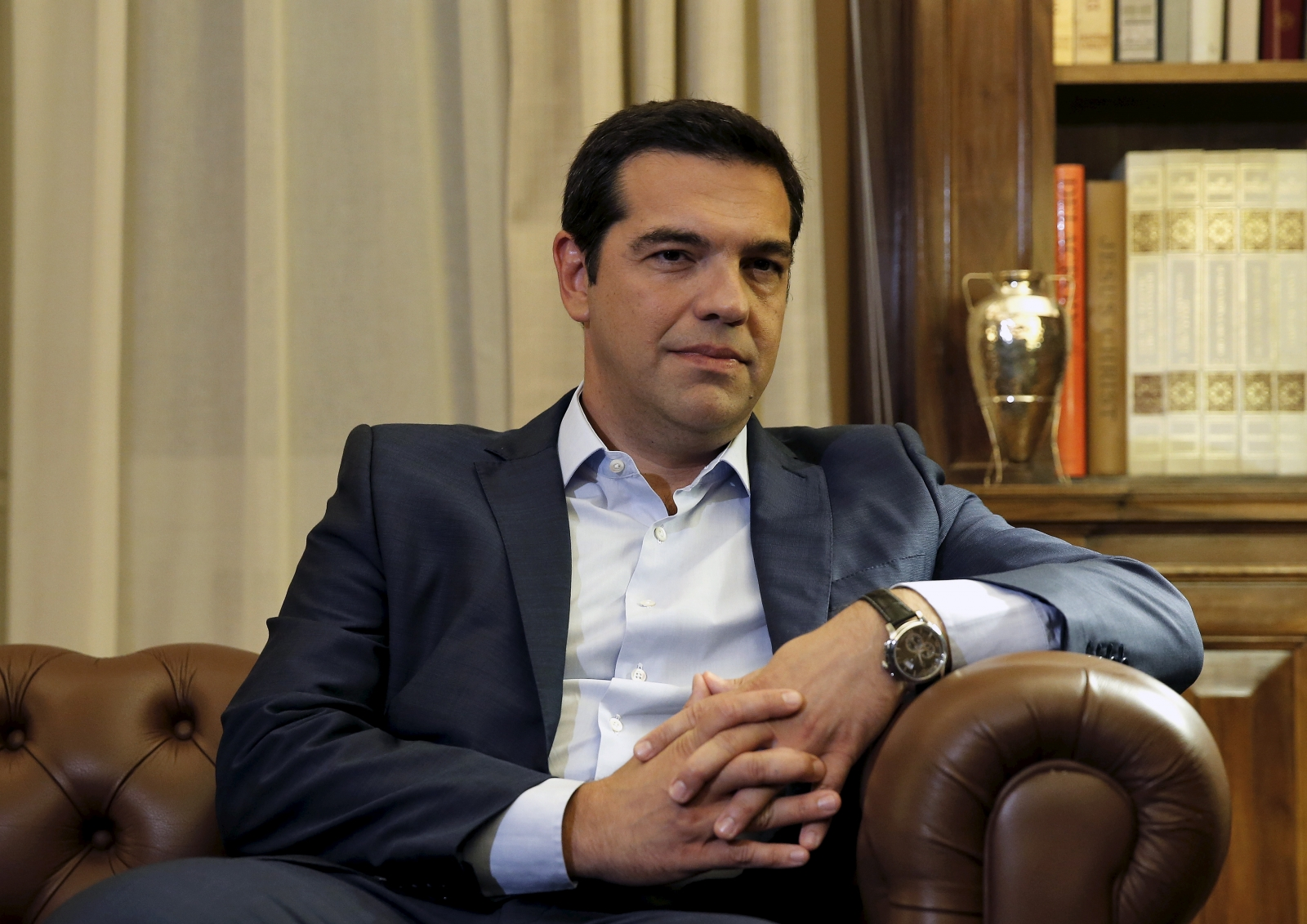 Alexis Tsipras resigns 20 August 2015