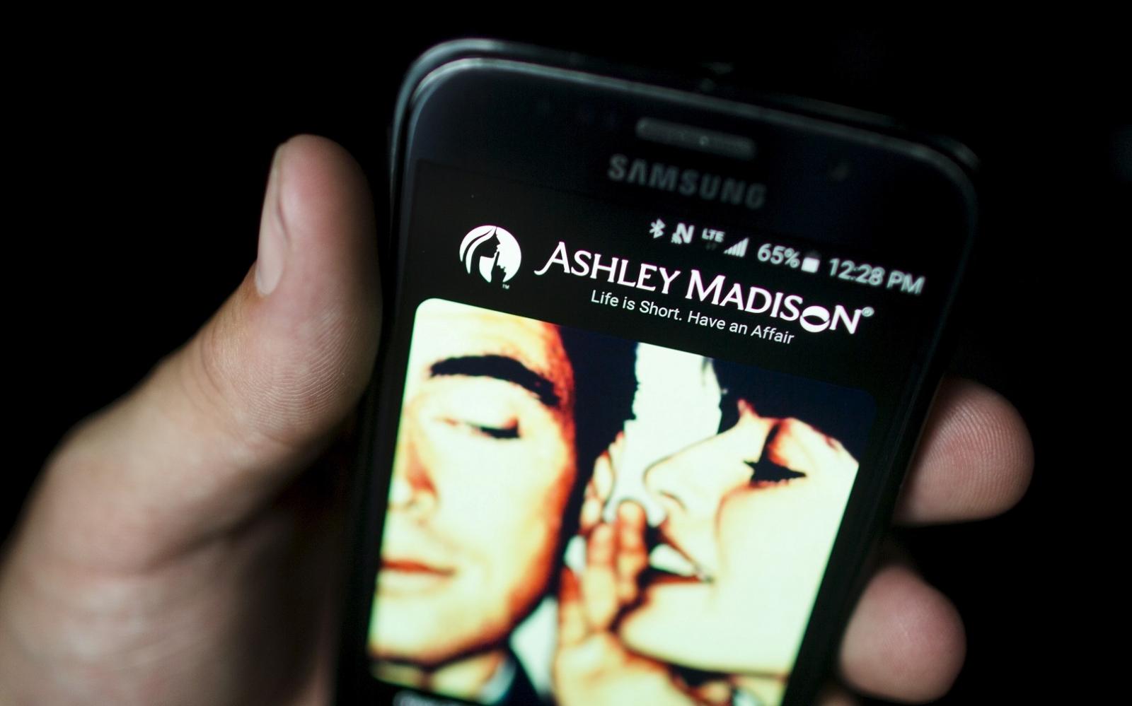 ashley madison hack list blackmail