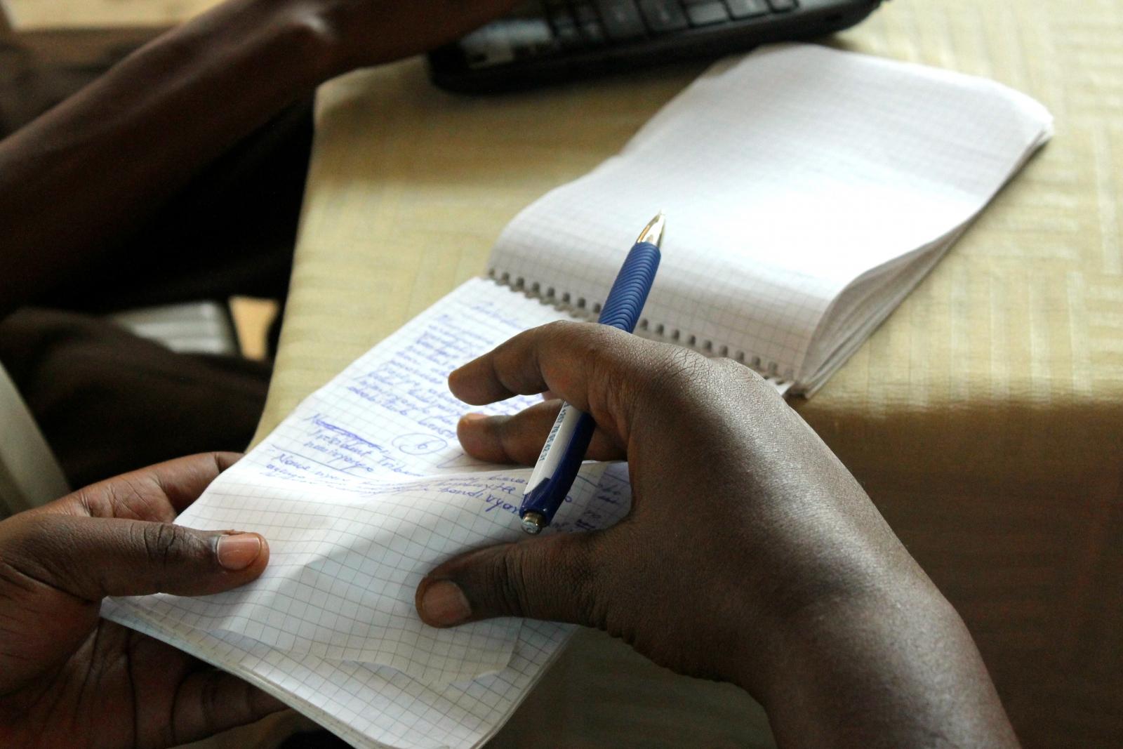 Journalists Burundi