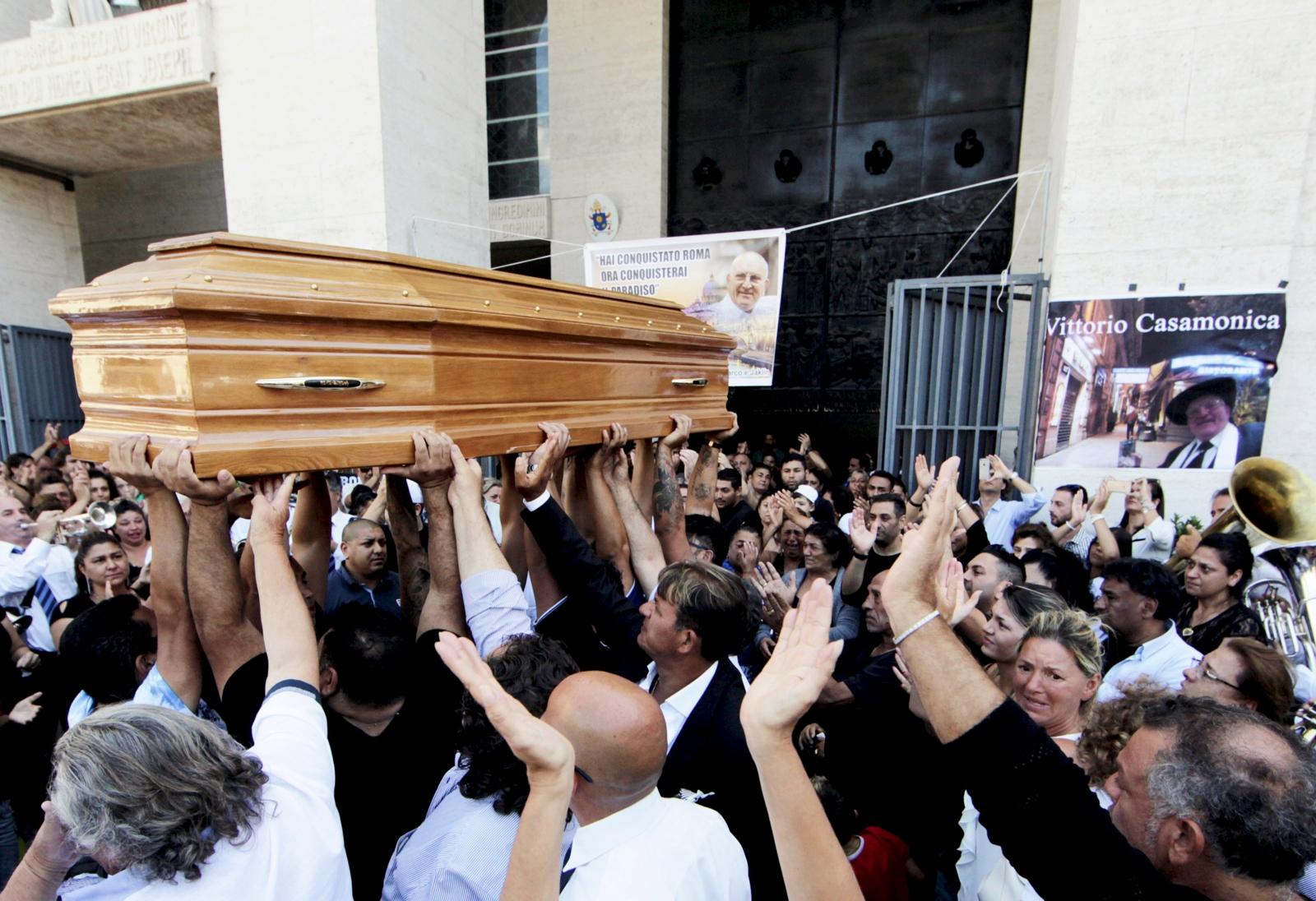 Vittorio Casamonica funeral