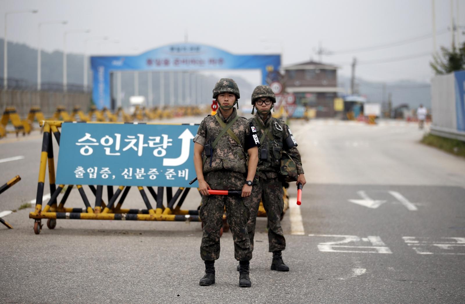 North Korea South Korea War Tensions
