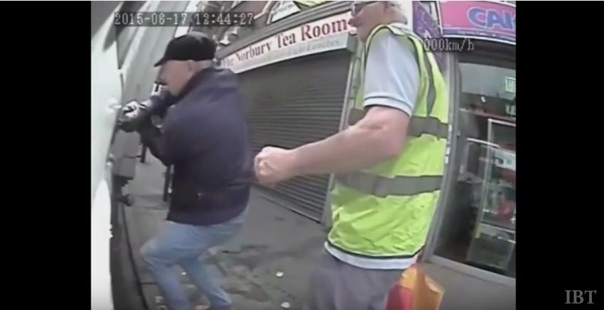 Elderly thieves in Croydon