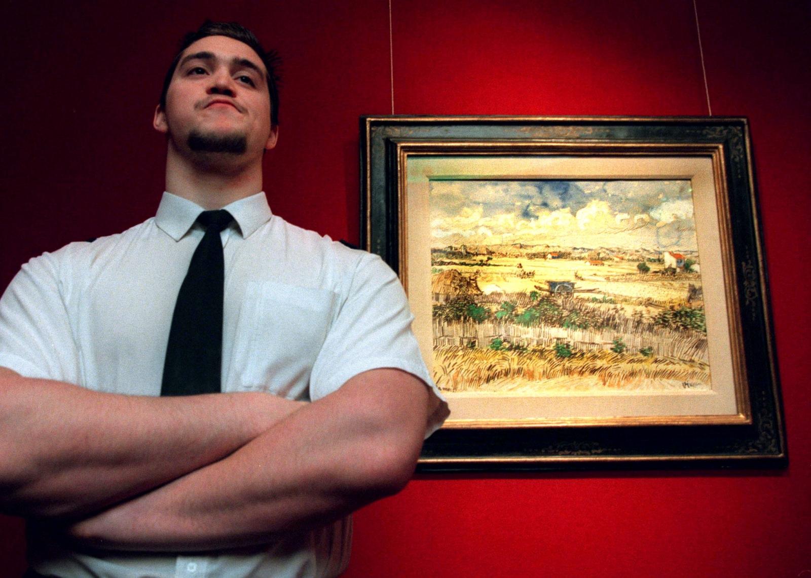 De Oogst by Vincent van Gogh