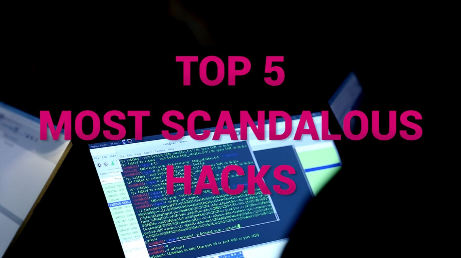 Top five scandalous security breaches