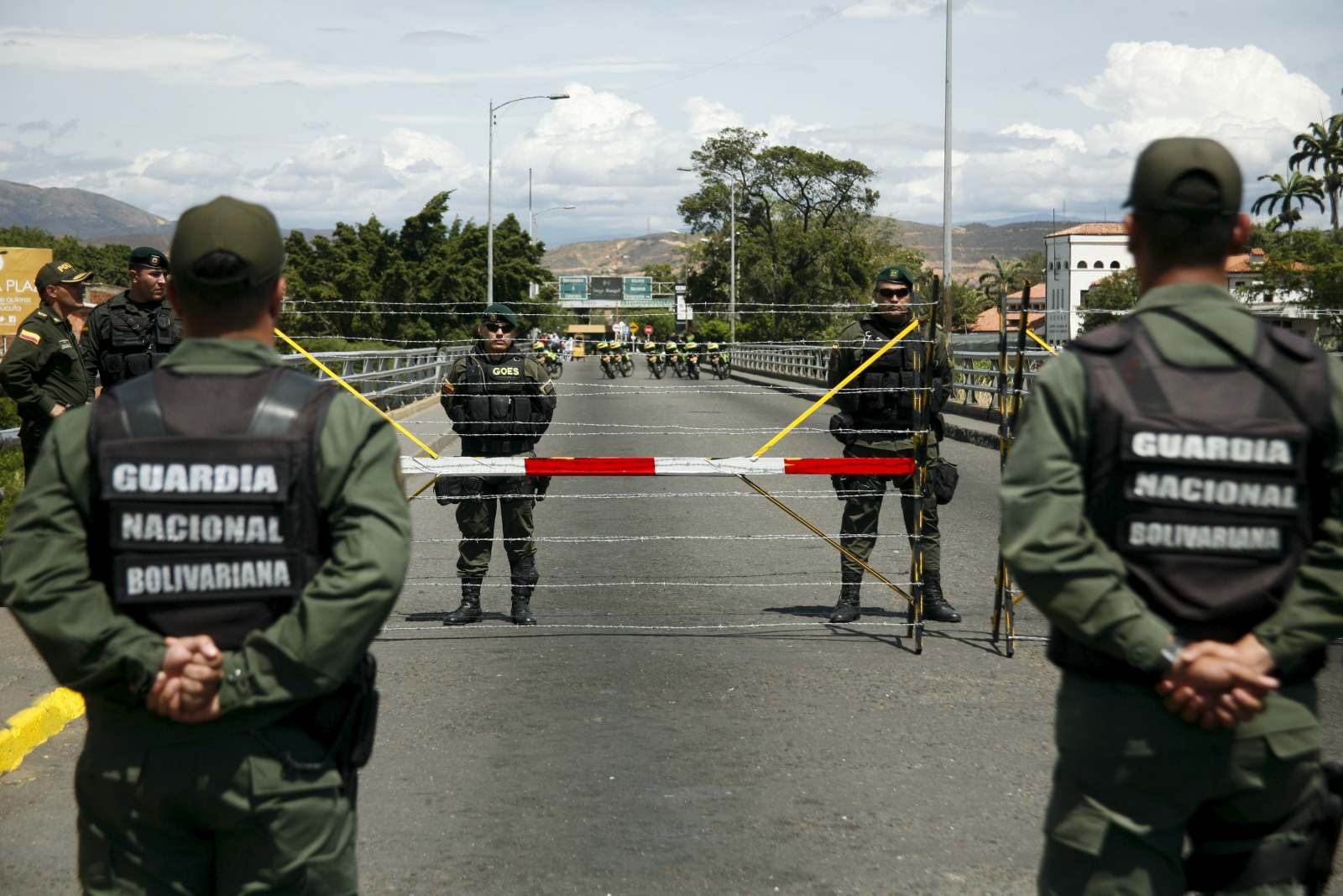 Venezuela border clashes