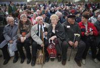 Holocaust survivors Sachsenhausen Concentration Camp 70th anniversary