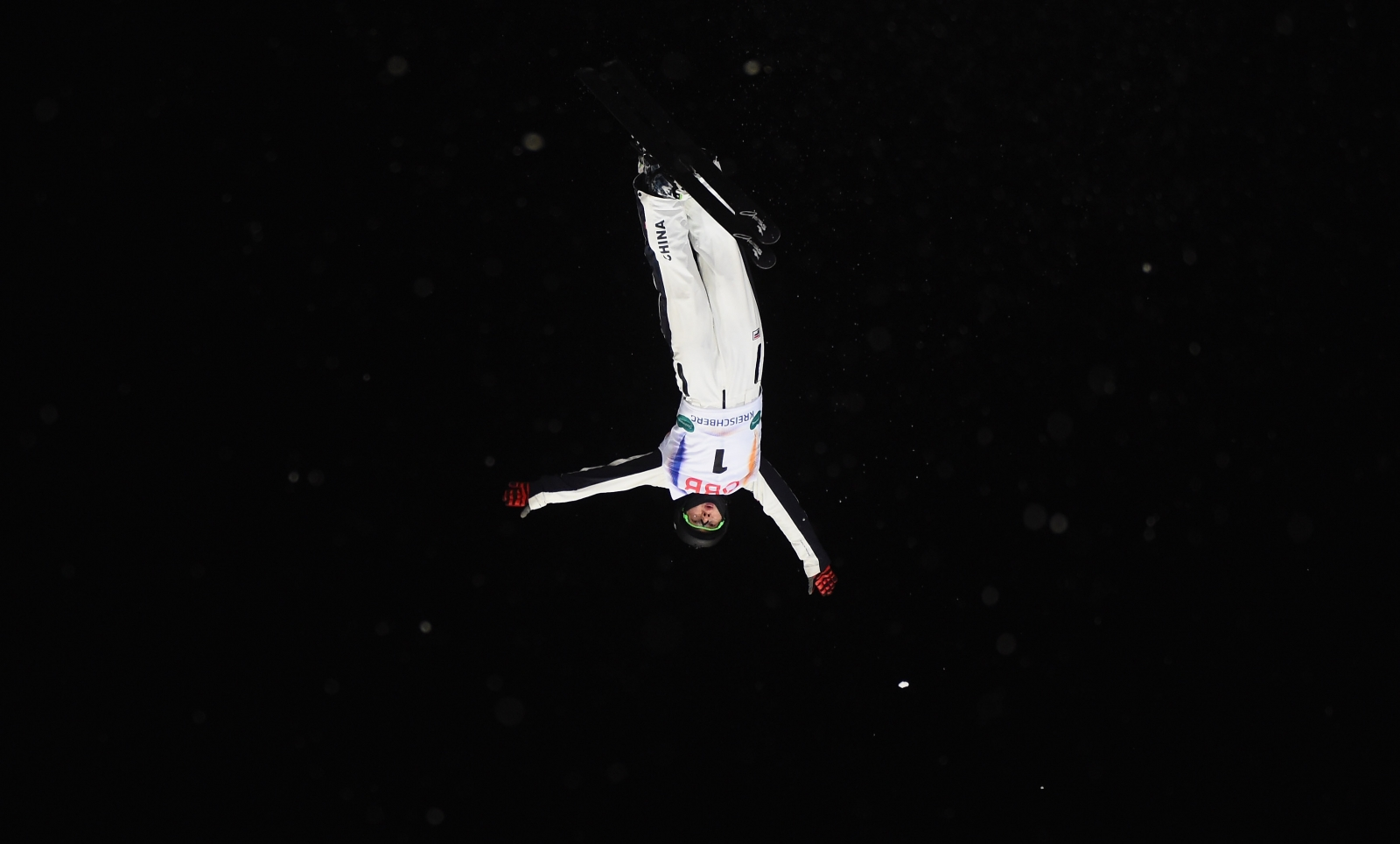 Chinese skiier