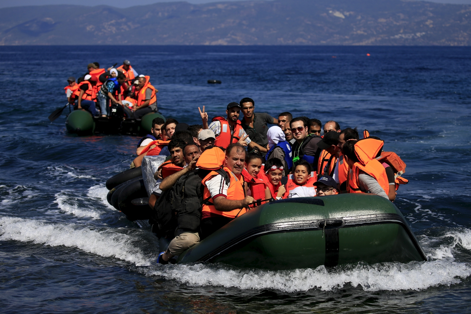 The Mediterranean migrant crisis is reaching a tipping