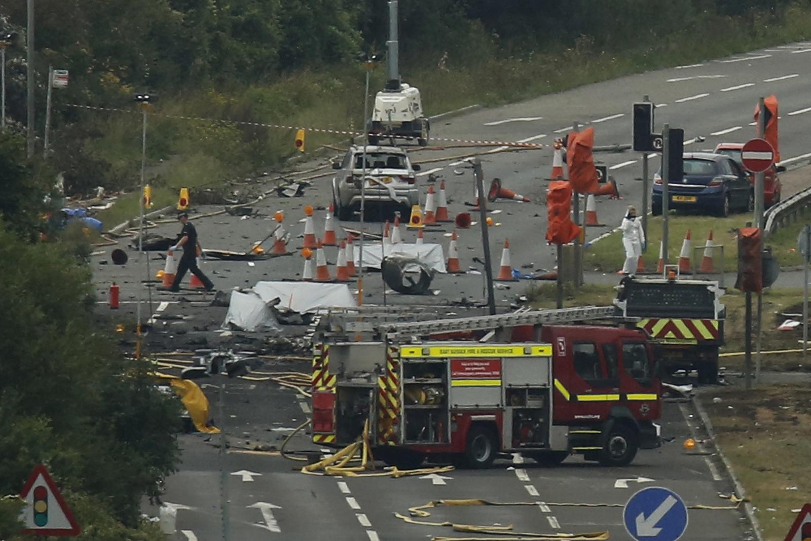 Shoreham airshow disaster